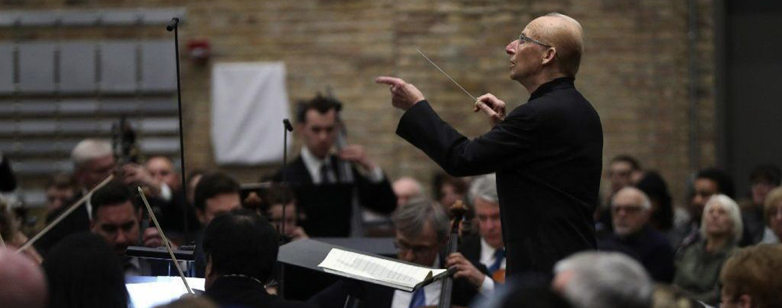 Jay Friedman conducts the CSO